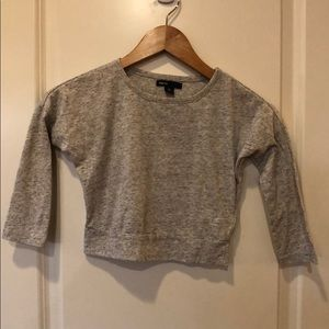 GapKids Sz. 4-5 Heather Grey Dolman Sleeve Top